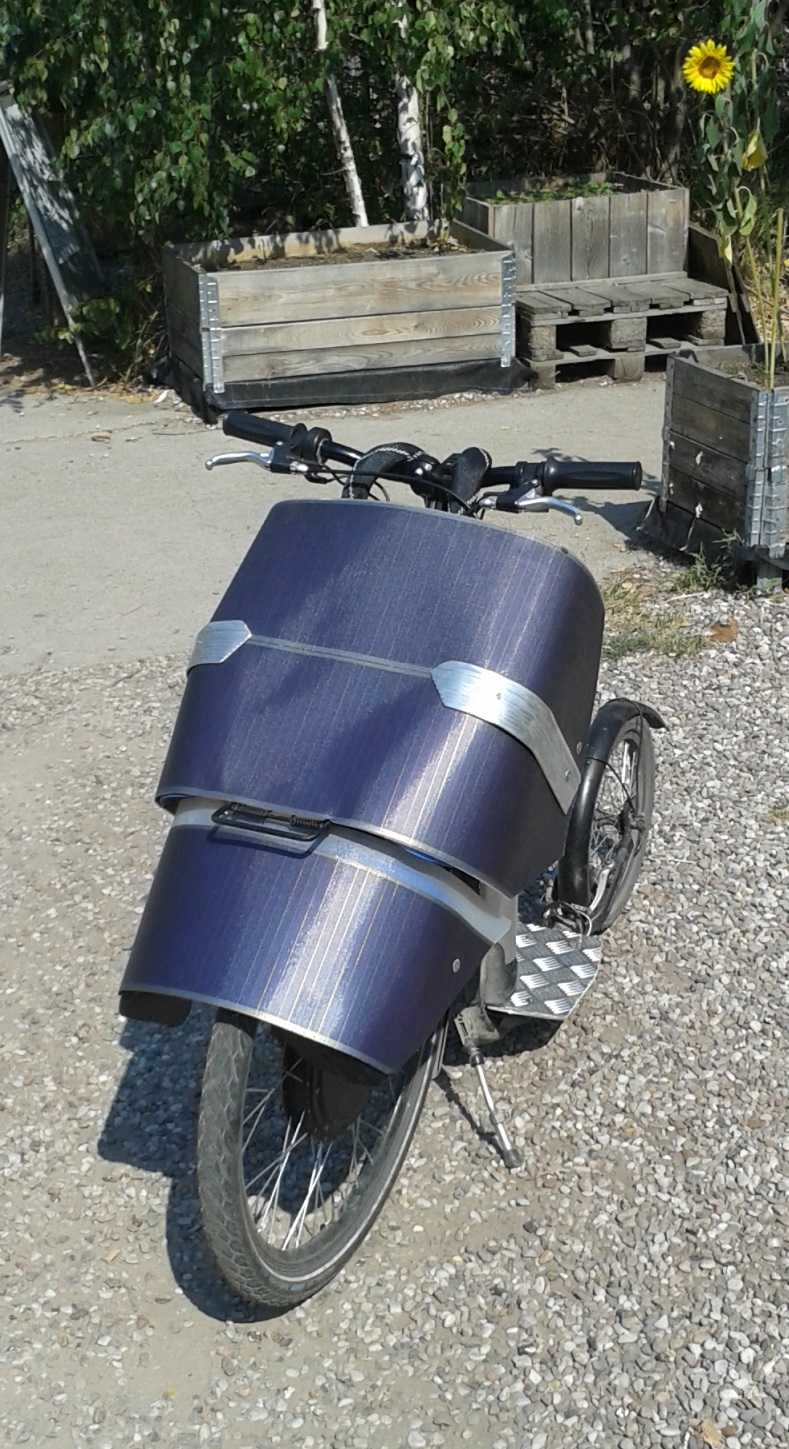 #Solarscooter